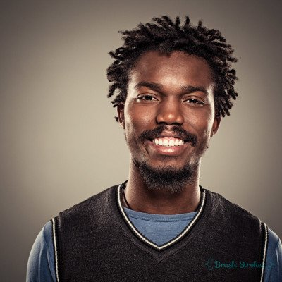 African-American Man Smiling